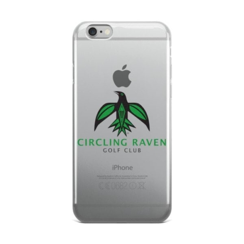 Circling Raven iPhone Case