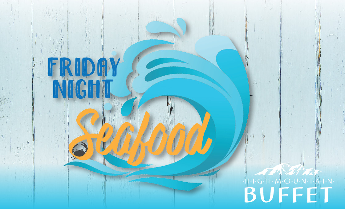 CDA Casino Friday Seafood Buffet